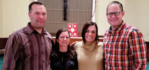 Wilhelmi and Mudron Families Visit